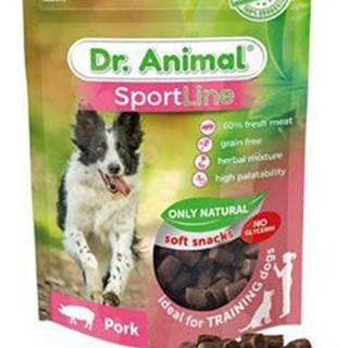 Pochoutka Dr. Animal Sportline vepřové 100g