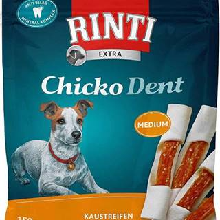 Rinti Dog pochoutka Chicko Dent Medium kuře 150g