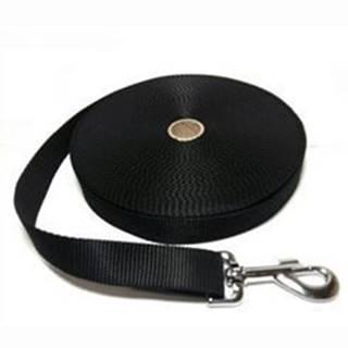 Vodítko DINOFASHION popruh stopovací černé 5m/2,5cm