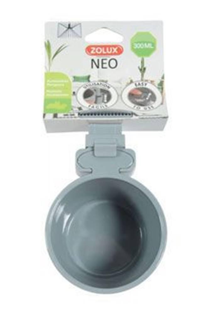 Zolux Miska plastová hlodavec NEO 500ml šedá Zolux