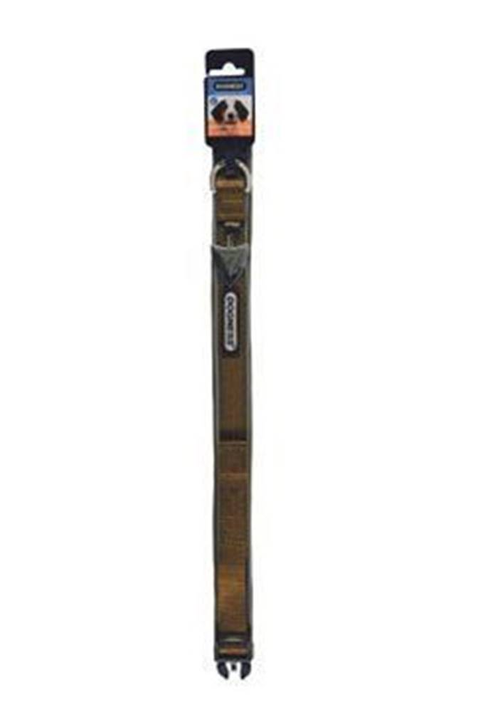IMAC Obojok IMAC nylon hnedý 56-68 / 3,8 cm