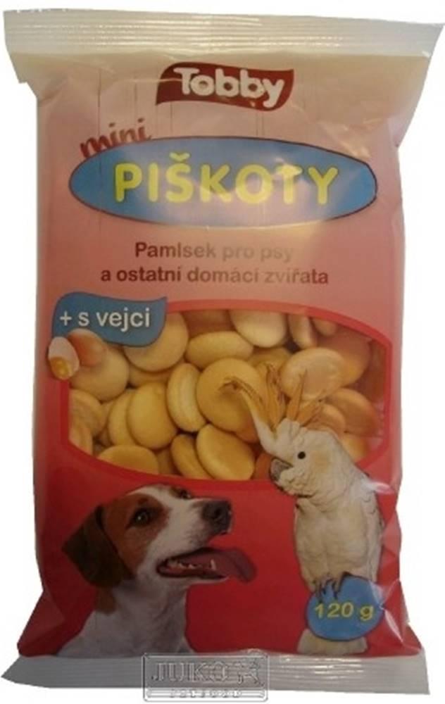 Ostatní Piškoty TOBBY pro psy MINI 120g