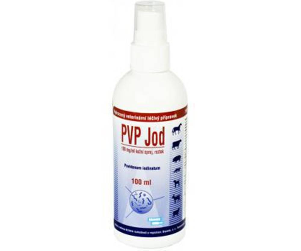 Bioveta PVP jód spray 100ml