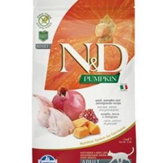 N&D GF Pumpkin CAT Quail & Pomegranate 1,5kg