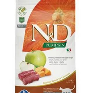 N&D GF Pumpkin CAT Venison & Apple 1,5kg