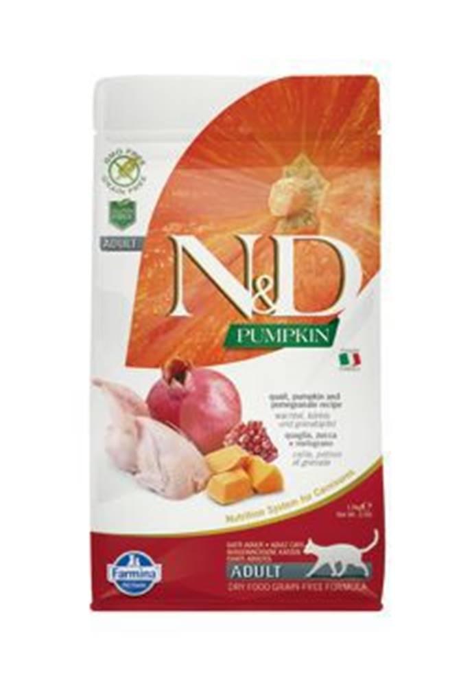 N&D N&D GF Pumpkin CAT Quail & Pomegranate 300g