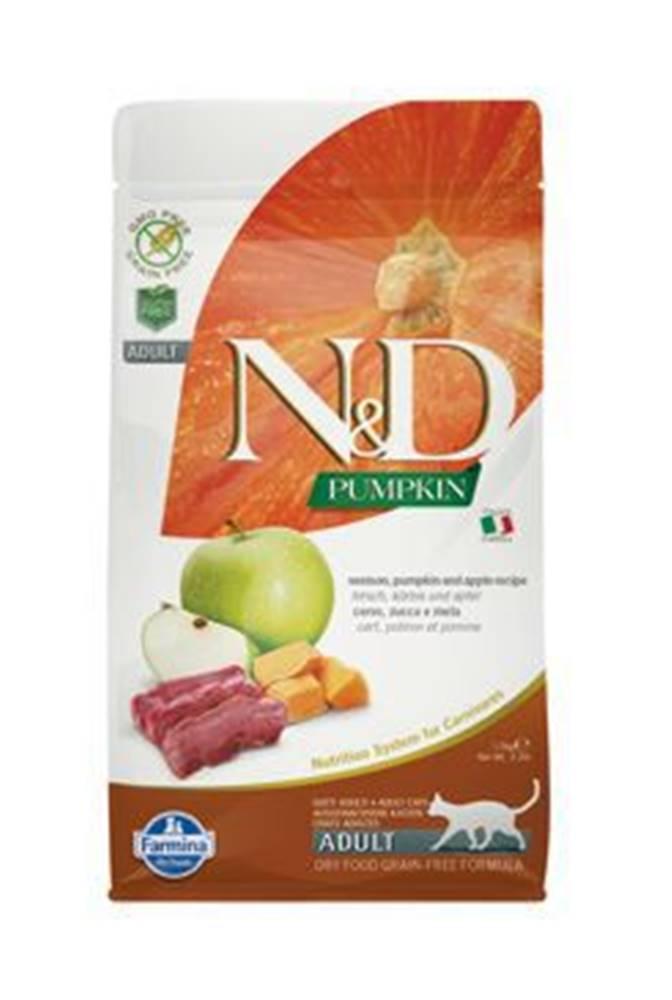 N&D N&D GF Pumpkin CAT Venison & Apple 1,5kg