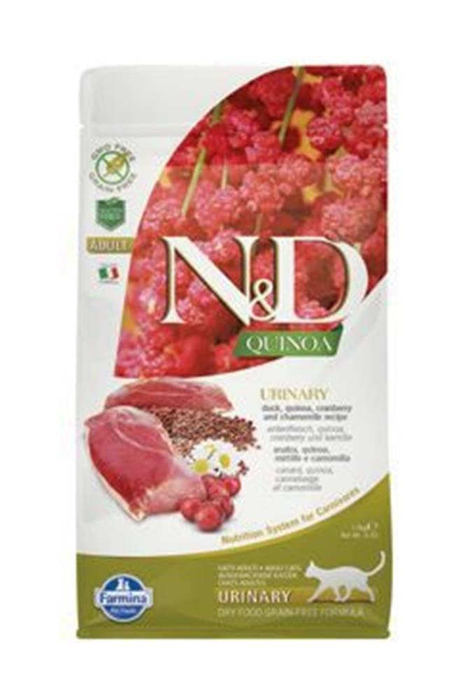 N&D N&D GF Quinoa CAT Urinary Duck & Cranberry 1,5kg