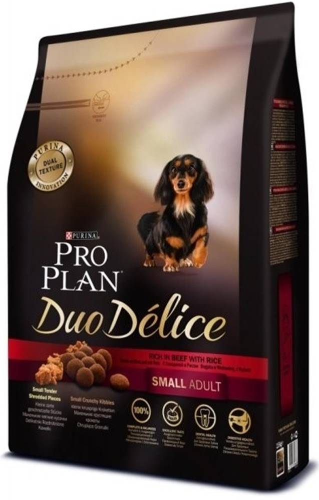 Proplan ProPlan Dog Adult Duo Délice Small & Mini Beef 2,5kg