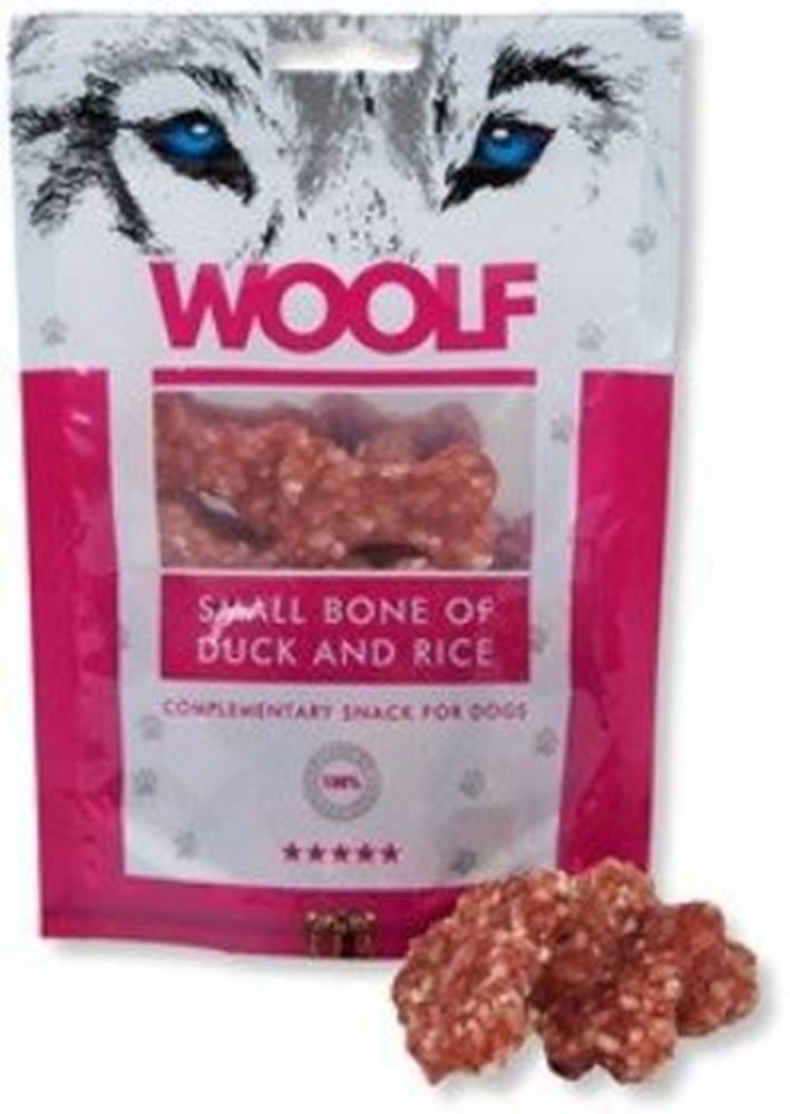 Woolf WOOLF pochoutka small bone of duck and rice 100g