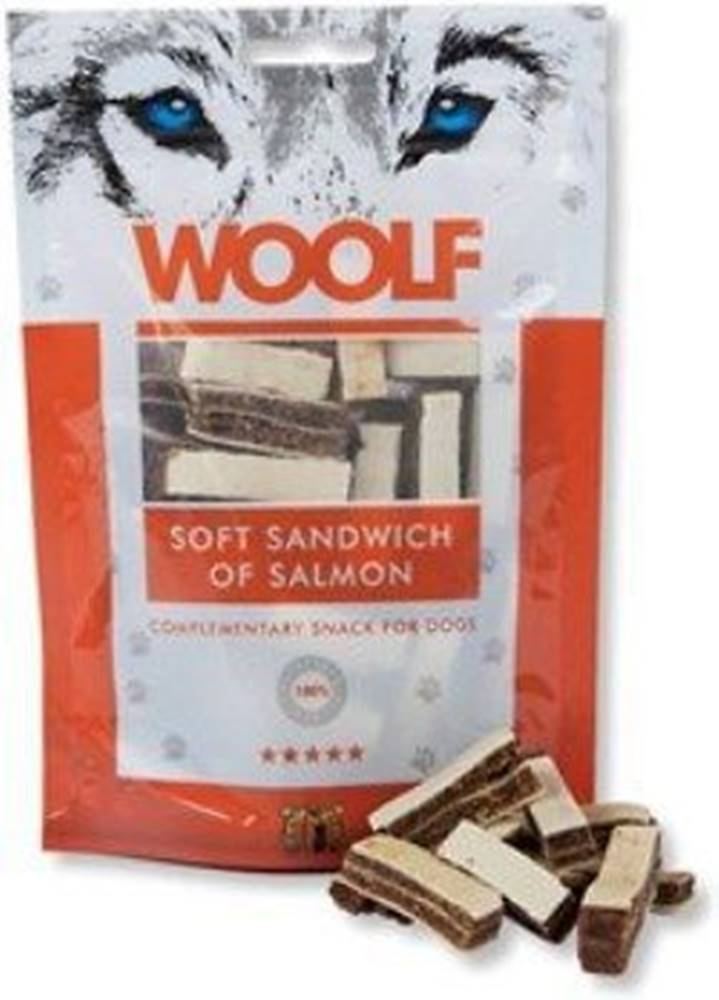 Woolf WOOLF pochoutka soft sandwich of salmon 100g
