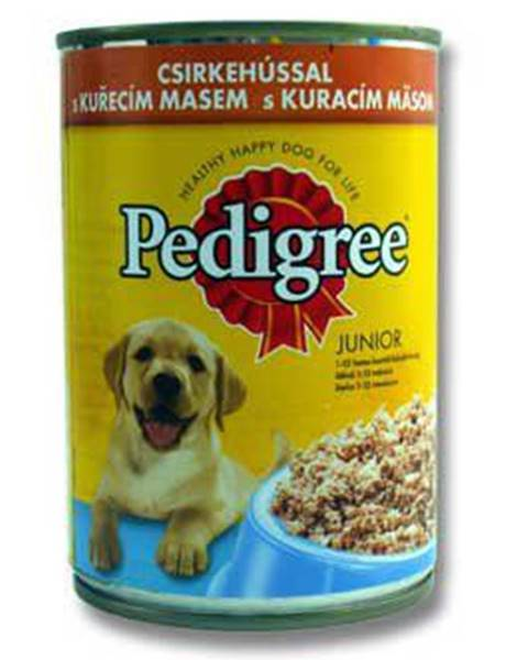 Konzervy Pedigree