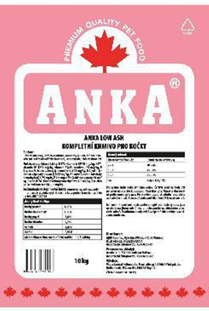 Anka Anka Cat Low Ash  20kg