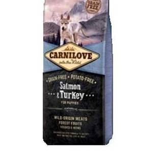 Carnilove Dog Salmon & Turkey for Puppies 12kg
