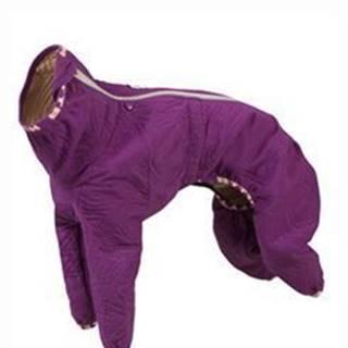 Obleček Hurtta Casual prošívaný overal fialový 70L