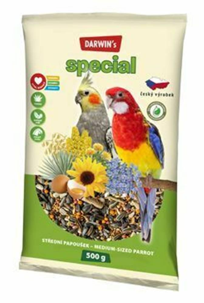 Darwin Darwin's střední papoušek special 500g