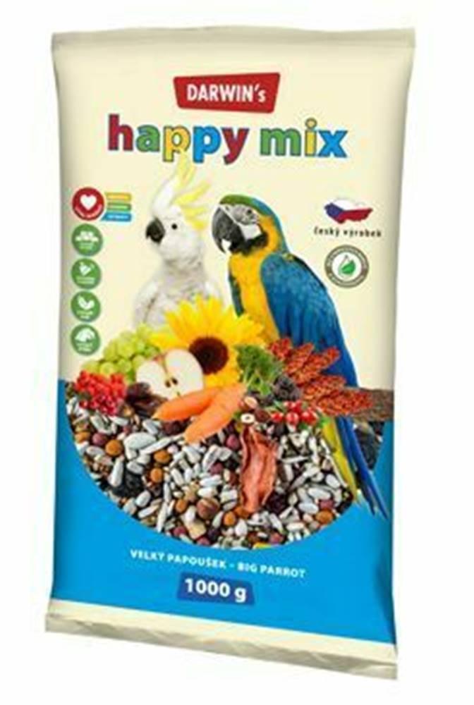 Darwin Darwin's velký papoušek Happy mix 1kg