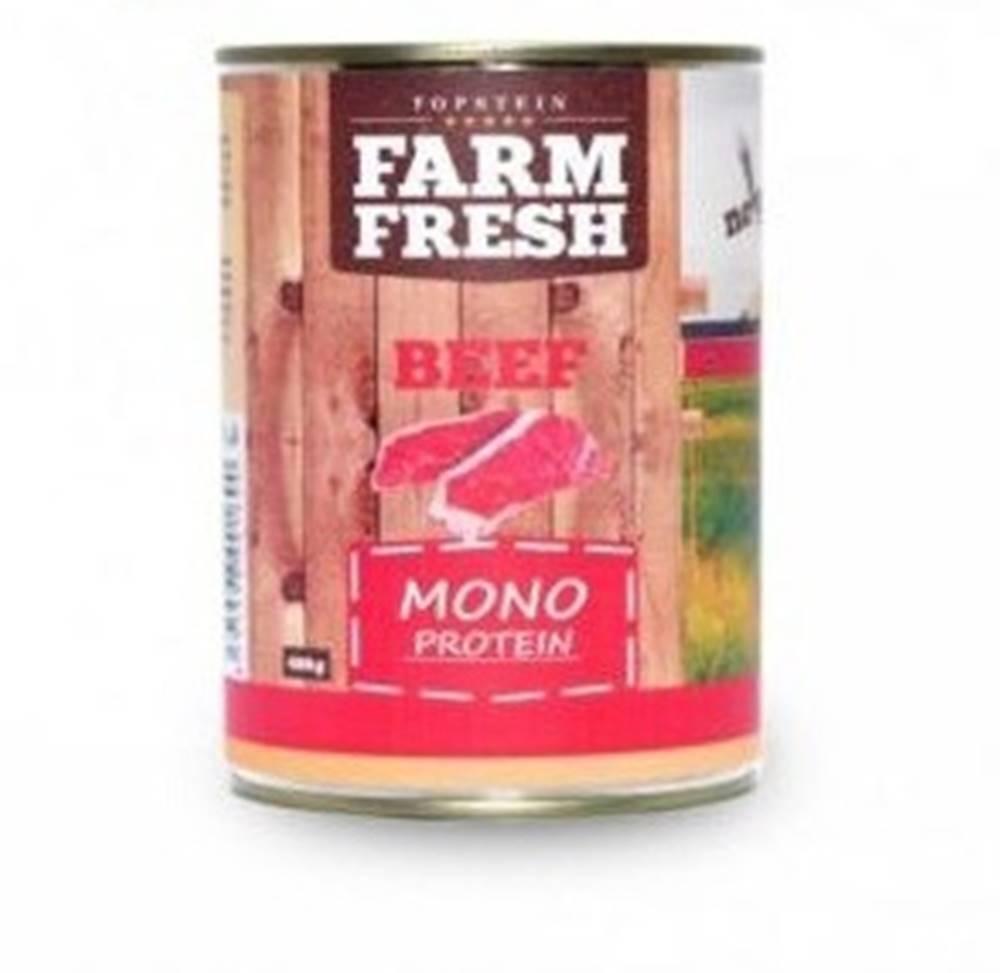 Farm Fresh Farm Fresh Dog Monoprotein konzerva Beef 400g