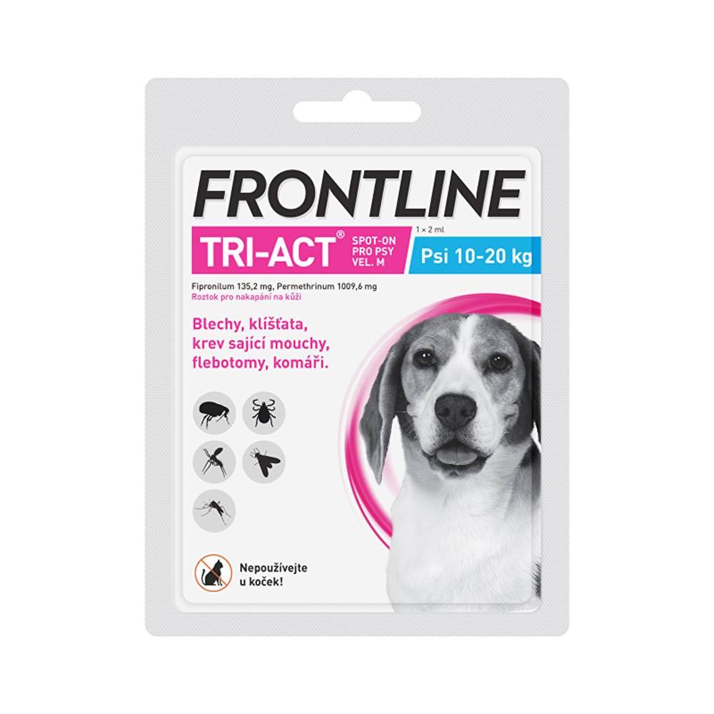 Frontline Frontline Tri-act Spot-on M (10-20 kg) 1 pipeta