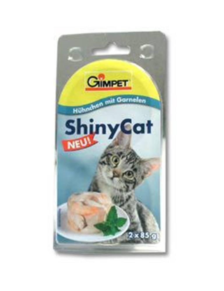 Gimborn Gimpet kočka konz. ShinyCat  kuře/krevety 2x85g