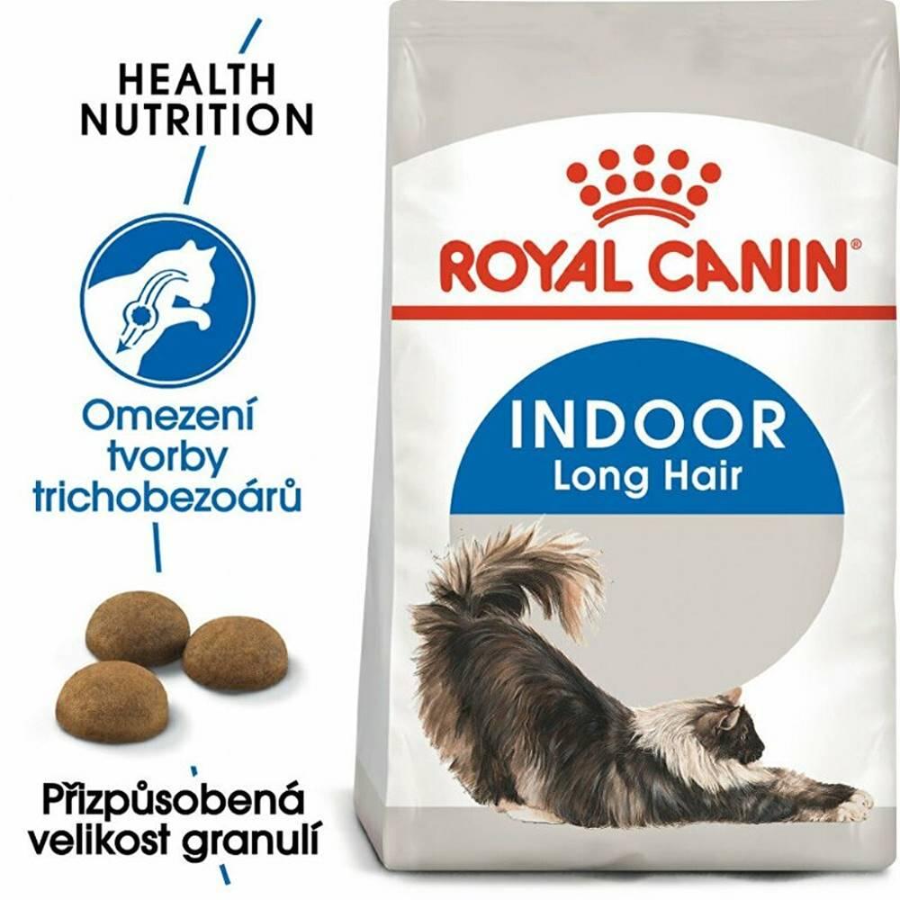 Royal Canin Royal canin Kom.  Feline Indoor Long Hair 2kg