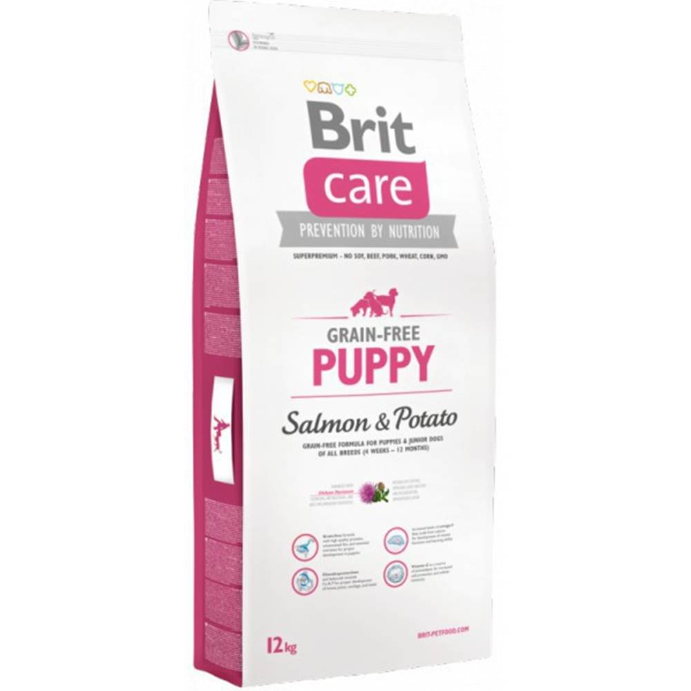 Brit Brit Care Dog Grain-free Puppy Salmon & Potato 12kg