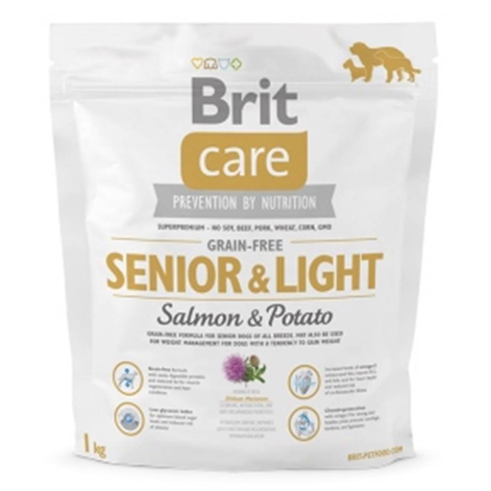 Brit Brit Care Dog Grain-free Senior Salmon & Potato 1kg