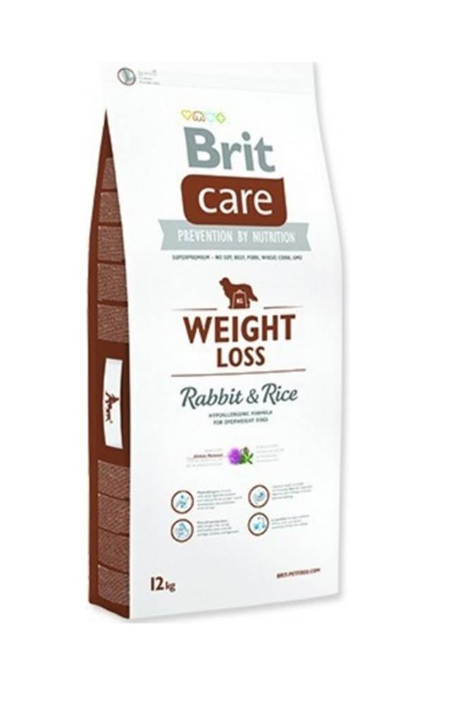 Brit Brit Care Dog Weight Loss Rabbit & Rice 12kg