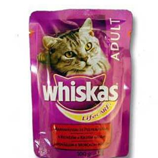 Whiskas kapsa s hovězím masem 100g