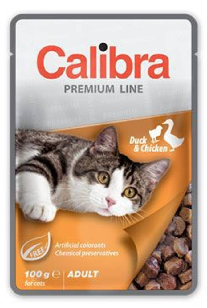 Calibra Calibra Cat  kapsa Premium Adult Duck & Chicken 100g