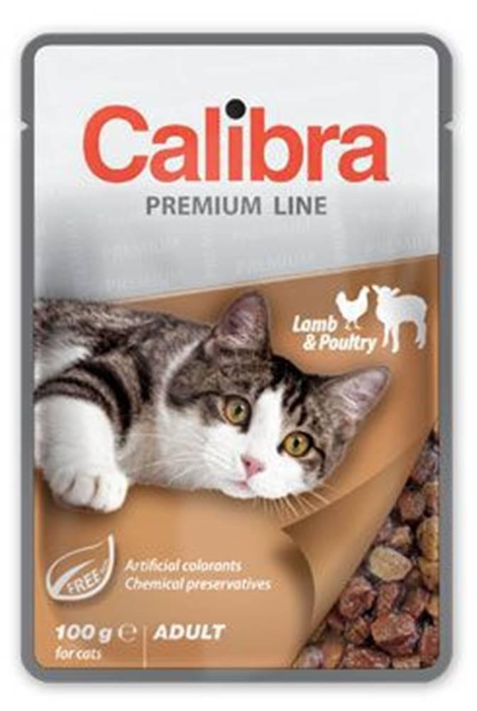 Calibra Calibra Cat  kapsa Premium Adult Lamb & Poultry 100g