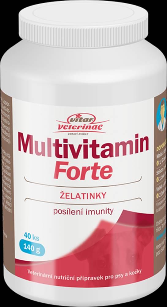 Vitar Veteriane Vitar Veteriane Multivitamin Forte 40ks želé