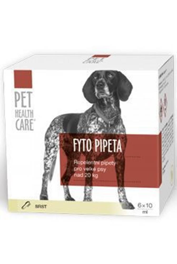 PET HEALTH CARE FYTO pipeta pre psov od 20kg 6x10ml PHC
