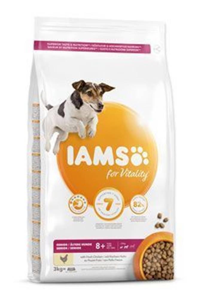 Iams Iams Dog Senior Small&Medium Chicken 3kg