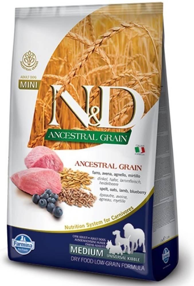 N&D (Farmina Pet Foods) N&D LG DOG Adult M/L Lamb & Blueberry 12kg