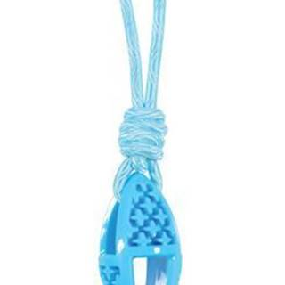 Hračka pes TPR SAMBA ovál s lanom modrá Zolux