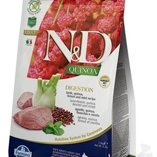 N&D GF Quinoa CAT Digestion Lamb & Fennel 5kg