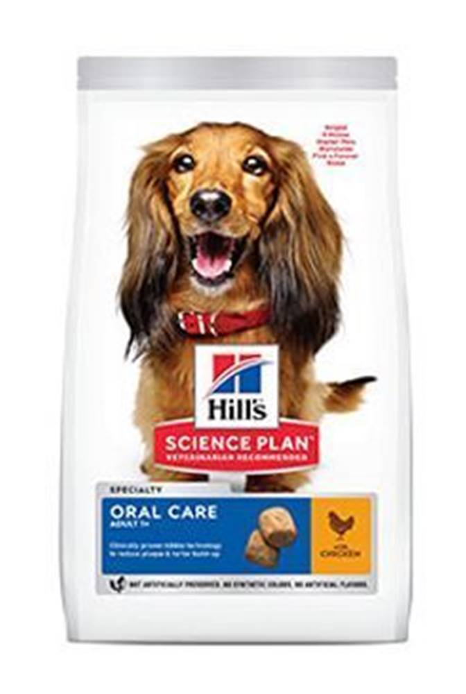 Hill's Hill's Can.Dry SP Oral Care Adult Medium Chicken 2 kg