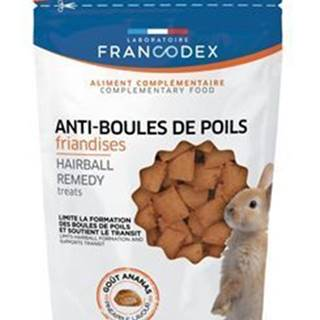 Francodex Pochúťka Hairball remedy králik 50g