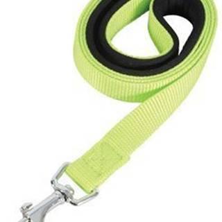Vodítko pes SOFT NYLON zelenej 20mm / 1m Zolux