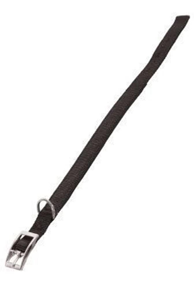 Zolux Obojok pes SOFT NYLON čierny 20mm / 45cm Zolux