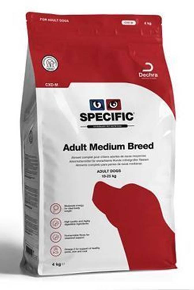 Specific Specific CXD-M Adult Medium Breed 4kg pes