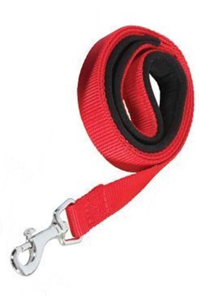 Zolux Vodítko pes SOFT NYLON červené 25mm/1m Zolux
