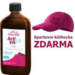 VITAR Veterinae ArtiVit Sirup 500ml + šiltovka
