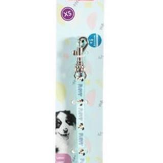 Vodítko pes šteňa MASCOTTE modrá 8mm 1,2m Zolux