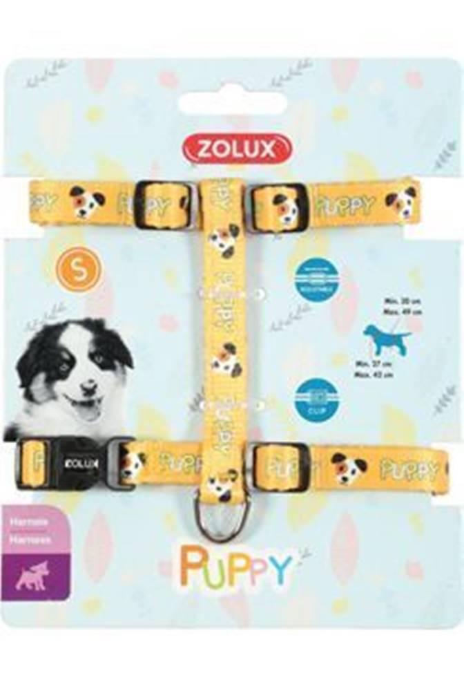 Zolux Postroj pes šteňa MASCOTTE nastaviteľný žltý 13mm Zol