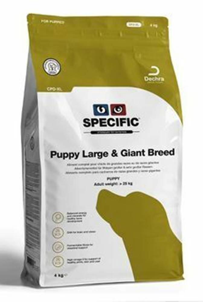 Specific Specific CPD-XL Puppy Large & Giant Breed 4kg pes