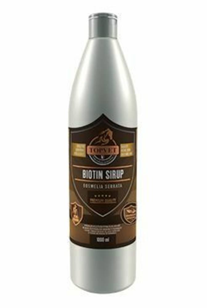 TOPVET Biotín s Boswelia sirup pre kone 1l