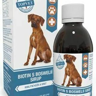 Biotín s Boswelia sirup pre psov TOPVET 200ml