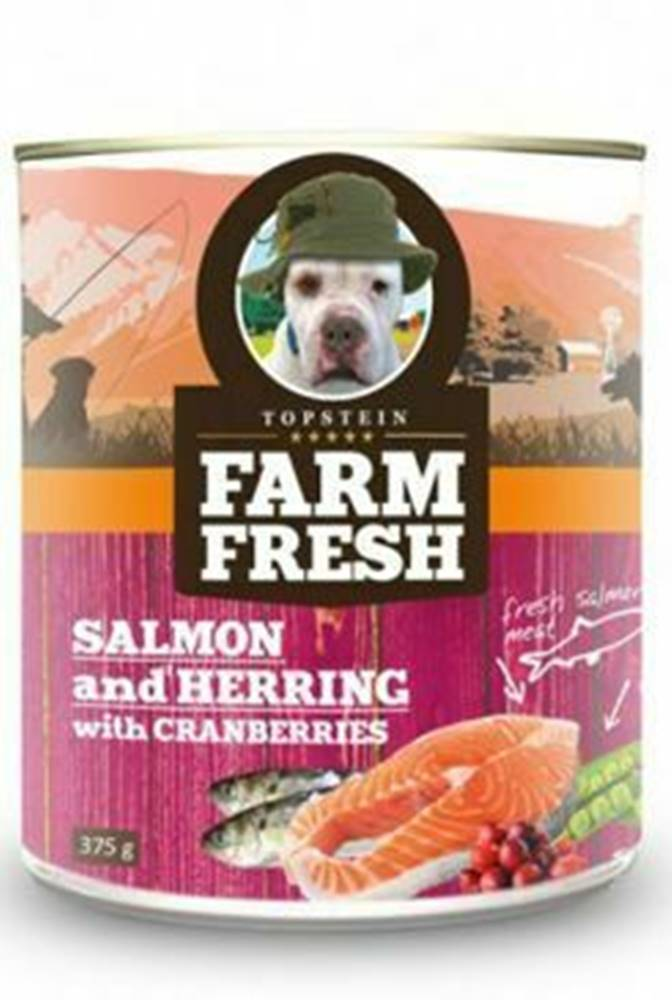 Farm Fresh Farm Fresh Dog Salmon&Herring+Cranberries konzer 750g